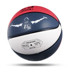 Nueva temporada 2015-2019 Oficial imitar pelota de baloncesto fundida 5 #, 6 #, 7 # pelota NUEVA llegada Molten PU Tamaño 23 Regalos de baloncesto Aguja neta
