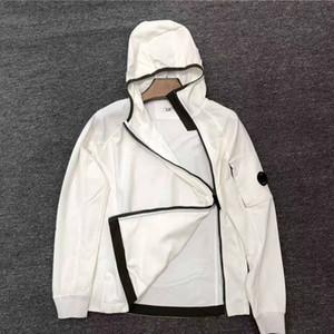 Конструктор 19FW CP Мужские куртки мужские Brand Ветровка Company Женщины Толстовки мужские Роскошные пальто Повседневный SideWay Zip Мода Дизайн High B103412L