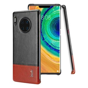 Pour Huawei Maté 30 Pro Series IMAK Ruiyi Concise Slim PU + PC Housse de protection