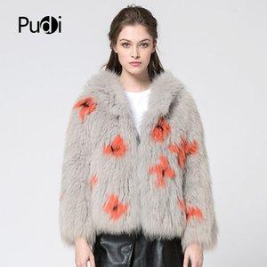 CT7030 The new women Winter new lady fur coat модный кардиган для волос с шапкой пальто