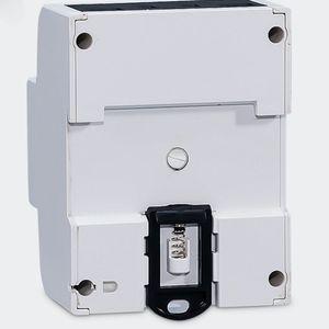 Freeshipping 3x5 (80A) Medidor de Energia Elétrica KWH Triphase DIN Rail Mount LCD
