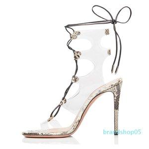 Wed2019 высокий сексуальный повязку сандалии обувь код Чэнду последней моде женщины напрямую