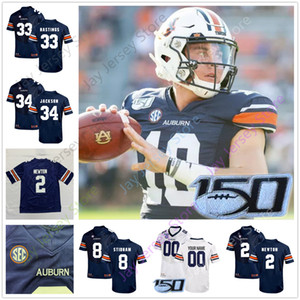 Football Jersey personnalisé College Bo Nix JaTarvious Whitlow Eli Seth Williams Stove Tyrone Truesdell Marlon Davidson Derrick Brow