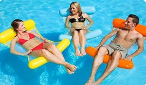 Hot-selling outdoor water hammock sofa ultra-light portable foldable water reclining chair adult beach toys
