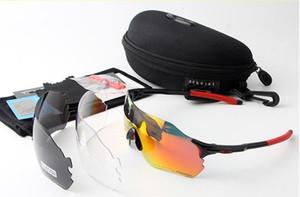 EV zéro Vélo Lunettes O Hommes Mode polarisants TR90 Lunettes de soleil Outdoor Sport Courir Lunettes 9313 coloré, polarisants, len transparent