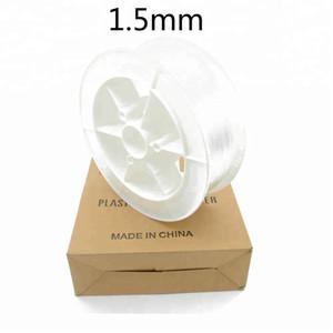 Cheap price 1.5mm end glow PMMA plastic optical fiber