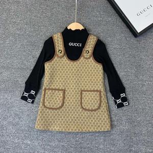 2019New high quality plus velvet children's long sleeve two-piece191015#0000000466