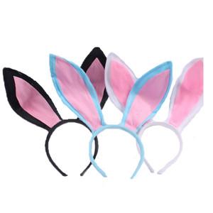 Delle ragazze delle donne simpatico coniglio orecchie Hair Sticks Pasqua Halloween Cosplay orecchie da coniglio principessa del boutique della fascia Accessori per capelli C5984
