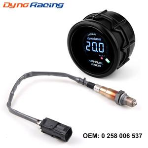 Dynoracing 52 milímetros Digital Air Fuel Rácio bitola estreita O2 Oxygen Sensor Para Lada Niva Samara Kalina Priora UAZ OEM: 0258006537