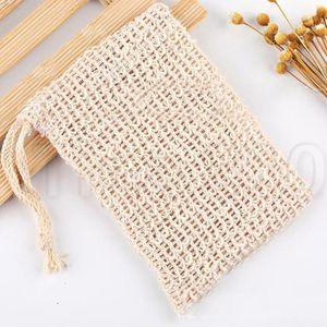 9*14cmSoap Blister Mesh Foaming net soap storage bags Bubble Mesh Bag bath products, bath toilet products T2I5108