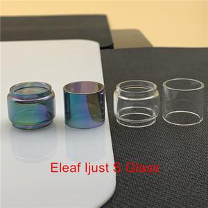 Eleaf Ijust S Kit di sostituzione della lampada tubo di vetro Bubble convesso Fatboy 6ml Normale 4ml Cancella Arcobaleno