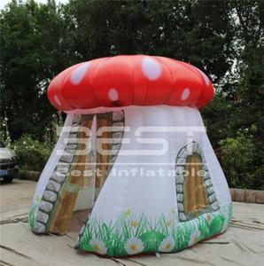 Levou Tent Publicidade inflável gigante balão de cogumelo com luz LED Para Discoteca Eventos Partido Stage Decoartion Ou decoração do casamento