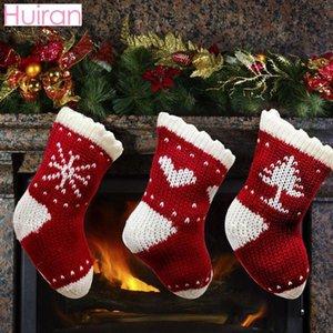 Cristmas Stockings Holder Christmas Decor for Home Christmas Gift Bag Xmas Candy Bag Noel Navidad Decor 2020 Happy New Year 2021