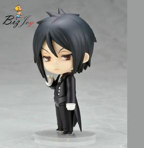 Figurine Kuroshitsuji Noir Butler Sebastian Michaelis 10cm PVC cadeau Jouets Poupées Collection Nendoroid Modèle Anime