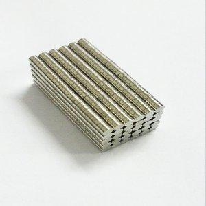 1000 Pcs Mini 2x1 mm N50 Permanente Forte Ímãs De Neodímio NdFeB Ímã Aimant