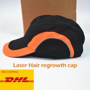 Lazer Terapi Saç Büyüme Kask Karşıtı Kıllar Kaybı Cihaz Tedavisi Anti Saç Dökülmesi Saç büyütme Cap tanıtın