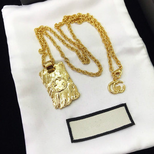 2020 Spring and summer New Products Brass Gold Necklace for Unisex Alloy Necklace Necklace Fashion Jewelry Supply