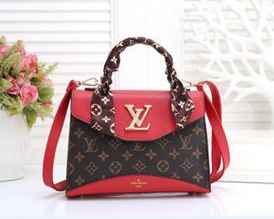 Hot Famous Brands Frauen Handtaschen L Blumen Luxurys Designer Composite-Taschen Lady-Kupplungs-Schulter Tote Weibliche Handtasche mit Mappe 2z99