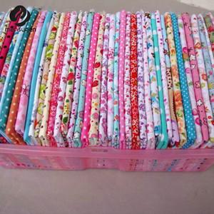 50 pcs 20cm * 25 cm tecido de algodão de sarja 100% Não há tecido de repetição colchas de patchwork para costurar têxteis de pano de boneca tilda