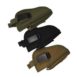 Tactical Gun Holster Airsoft Militar Cinturón de Caza Al Aire Libre Izquierda Izquierda Intercambiable Holster Case Military Gear Nuevo