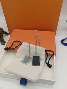 Collar de calidad superior regalo del diseño de pareja de los hombres Mujer Unisex pendiente del estilo del Collares joyería que llegaban nuevos