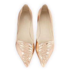 Sexy2019 Butterfly Xiuhua Xia Flat Sharp Рот сингл обувь Студент All-матч Удобная женская обувь