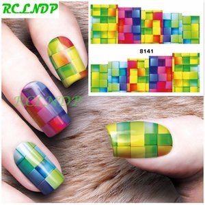 Gradient Bright Water Sticker forSliders place autocollants Nail design Stickers manucure Accessoires