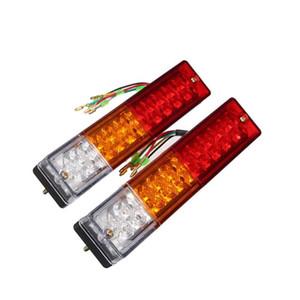 20 LED 12V Ute posteriore Trailer Tail Lights Caravan crogiolo di camion Auto Car Spia