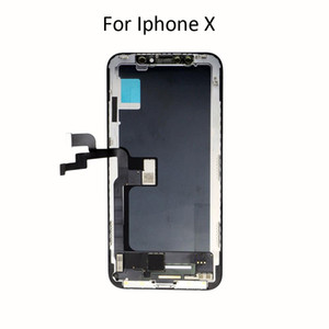 Oem original oled lcd replacement kit for apple iphone x lcd, screen glass touch digitize TFT lcd display for iphone x