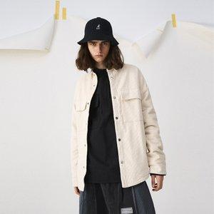 20SS Son üst Sonbahar CORDUROY CEKET Standı yaka Streetwear Erkekler Kadınlar Pamuk Moda Ceketler Coat