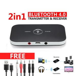HIFI Wireless Bluetooth 2 in1 Audio Receiver Receiver 3.5MM RCA Music Adapter