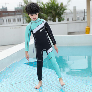 Hisea Childen Wetsuits 2.5mm Neoprene Elastic Swimming Surfing Spearfishing Suit Wetsuit Boys Swimsuit Equipent Diving equipment Swimsuit