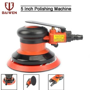 "5 "" Pneumatic Sandpaper Random Orbital Air Sander 90 PSI Polishing Thring Machine Hand Tools JSB-288"