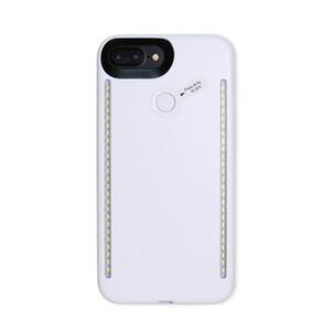 حالات LED ضوء الصور الشخصية للحالة الهاتف ضوء فلاش مضيئة الهاتف الغلاف الخلفي للحصول على اي فون برو 11 ماكس X XS 6 7 8 زائد