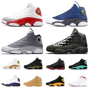 nike air jordan retro 13 13s Hombre Mujer Zapatillas de baloncesto Jumpman Grey Toe Flint Cap and Gown History of Flight DMP Bred Sport Sneakers