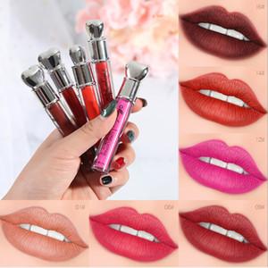 Bon Article Maquillage Menglang Durable Mat Lipgloss Sexy Nude Lipstick Lip Matte Rouge À Lèvres Liquide Imperméable Longue Durée Rouge À Lèvres livraison gratuite