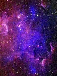 Galaxy Etoiles Starry Sky Vinyle Photographie Backdrops Purple Dream Photo Booth Fonds pour enfants Props studio