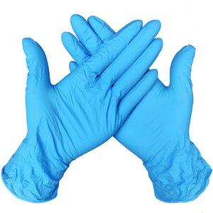 Descartáveis de proteção de borracha nitrílica luvas de látex Luvas de alimentos luvas Universal Doméstico Jardim limpeza Food Handling Acessórios de cozinha LJJA4042