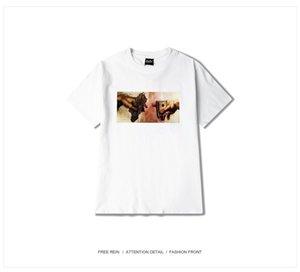 2020 Hemp Dollar Bills Punk Tee Men Hip hop Street Popular Shirts T-HEYBIG Vintage Print Gangsta Black Market shirt Asian SIZE
