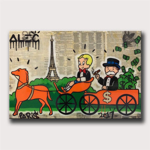 Hermès, Alec Monopoly, Canvas HD Imprimir Pintura Home Decor Art / (Unframed / Framed)