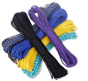 328 FT 550 Paracord Parachute Cord Bracelet life-saving Lanyax Mil Spec Type III 7 Strand Core