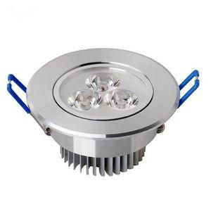 Spotlight LED 9W 12W LED Recessed Wall Spot Down Light Lamp Lâmpada Frio Branco Quente Branco Para Iluminação 20 / Lote