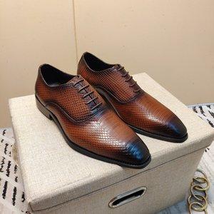 2020Fashionable Marken klassische männliche Luxus-Designer-Luxus-High-End-Mode-Schuhe, flache Schuhe formale Schuhe ruhige Atmosphäre