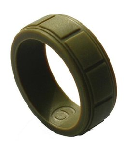 DHL Silicone Wedding Ring Flexible Silicone O-ring Wedding Outdoor sports Lightweigh Ring for Mens Multicolor for men nx