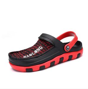 Crocse Crocks Hommes Sandales Piscine d'été extérieure CholasBeach Chaussures hommes Slip sur jardin Sabots Douche d'eau Casual LiteRide Crock