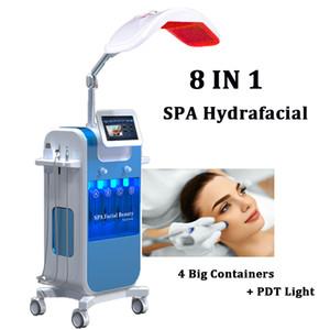 8 in 1 hidrakasiyal cilt kabuğu makinesi Mikrodermabrazyon Anti Aging Cilt Resurface Pul Pul Hidro Dermabrazyon Diamond Ölü Hücreleri Kaldır