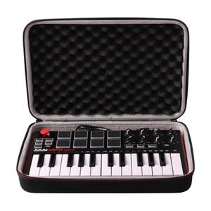 Akai Profesyonel MPK Mini MKII MPK Mini Play Taşıma Çantası LTGEM Seyahat | 25 Tuşlu USB MIDI Drum Pad Klavye Denetleyici