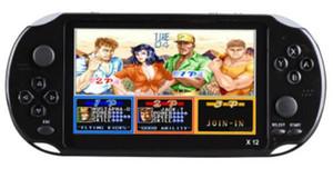 """5.1 """"컬러 화면 지원 TF 카드 32 기가 바이트 MP3의 MP4 플레이어 1PCS와 X12 핸드 헬드 게임 플레이어 8 기가 바이트 메모리 휴대용 비디오 게임 콘솔"""