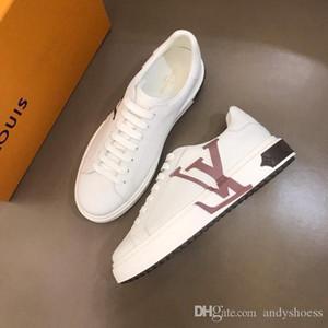 bianco nero piatto di moda di lusso designe r allenatore scarpe da ginnastica rossa in pelle a forma di sesso maschile scarpe da skate scarpe casual maschile italiana