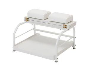 Elitzia ET30116 Salon de beauté ou ongles Salon Portable Chariot pour panier Repose-pied ou pédicures